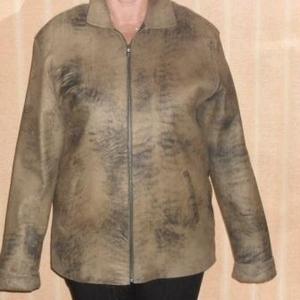 Продам кожаную мужскую куртку