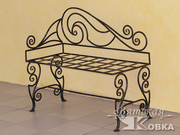Кованая мебель и предметы интерьера на заказ.